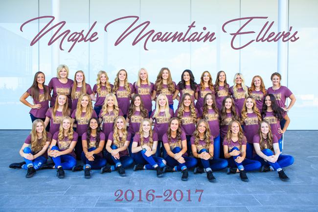 2016-2017 MMHS Drill Team